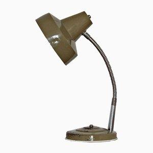 Lámpara de mesa industrial, años 50