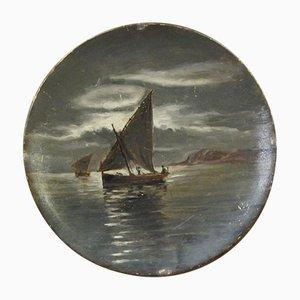 Plat Antique en Céramique