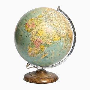 Beleuchteter Mid-Century Globus von Swedese, 1950er