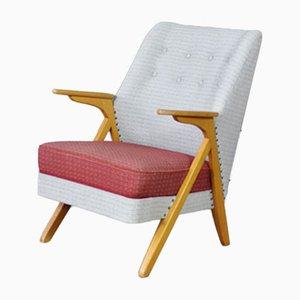 Dänischer Mid-Century Armlehnstuhl aus Buche