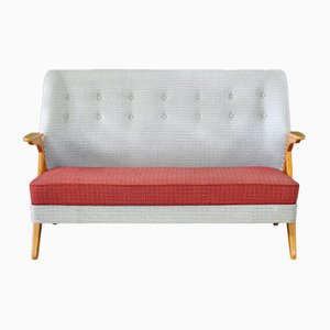 Mid-Century Danish Two-Seater Sofa