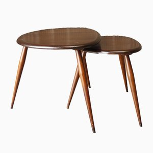 Tables Gigognes par Lucian Ercolani pour Ercol, 1960s