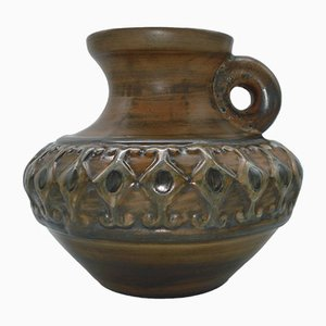 Vintage Keramikvase von Jeam de Lespinasse, 1950er