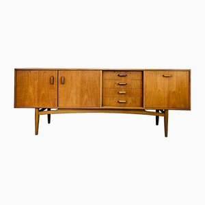Teak and Afromosia 4058 Sideboard by Victor Wilkins for G-Plan, 1960s