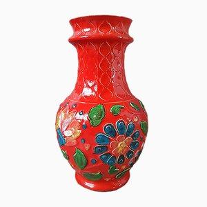 Vaso Fat Lava in ceramica di Bay Keramik, anni '60