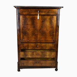 Antique French Mahogany Secretaire