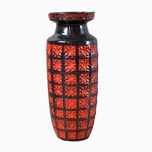 Grand Vase Fat Lava de Scheurich, 1960s