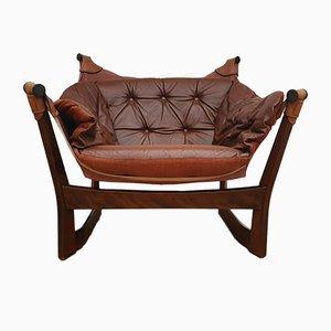 Slow Lounge Chair by Tormod Alnaes for Sørlie Møbler, 1970s