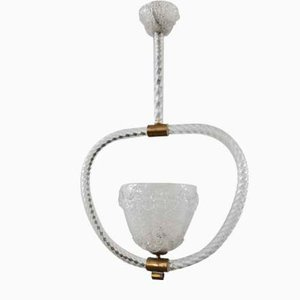 Ceiling Lamp from Barovier & Toso, 1950s