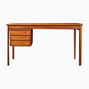 Danish Teak Veneer Desk by Peter Løvig Nielsen for Løvig, 1960s