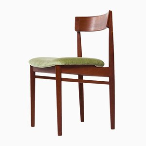 Mid-Century Danish Teak Dining Chair by Henry Rosengren Hansen