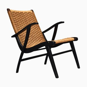 Mid-Century Dutch Lounge Chair from Vroom & Dreesman, 1957