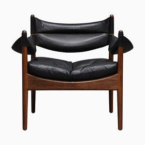 Sessel mit Gestell aus Palisander von Kristian Vedel für Søren Willadsen Møbelfabrik, 1960er