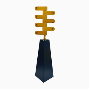 Sculptural Wooden Coat Stand by Ogawa Isao, 1970s
