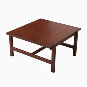 Mid-Century Teak Veneer Coffee Table by Cees Braakman for Pastoe