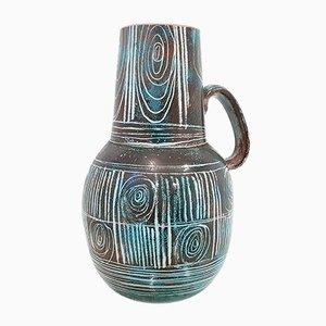 Vaso Mid-Century in ceramica di Atelier Roy per Montgolfier, Francia, anni '60