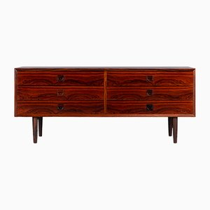 Danish Rosewood Chest of Drawers by E. Brouer for Brouer Møbelfabrik, 1960s