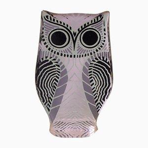 Brazilian Lucite Owl Sculpture by Abraham Palatnik, 1970s
