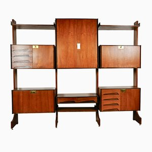 Mid-Century Italian Wall Unit by Vittorio Dassi for Dassi