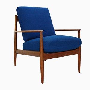 Sessel mit Gestell aus Teak von Grete Jalk für France & Søn / France & Daverkosen, 1960er