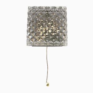 Mid-Century Glass Sconce