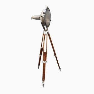 Industrial Projector Floor Lamp from Mazda, 1970s
