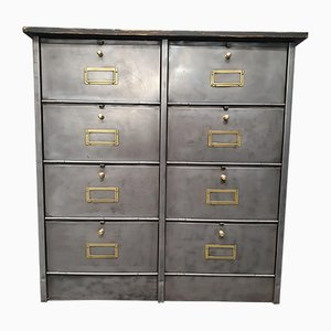 Reed and Brass Cabinet from Roneo, 1960s