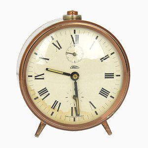 Copper Alarm Clock from Prim, 1970s