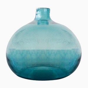 Vaso in vetro soffiato di Claude Morin, anni '70