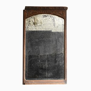 Antique Wooden Mirror