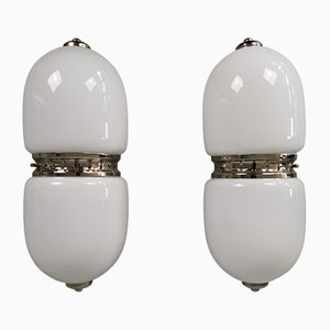 Sconces by Carlo Nason for Mazzega, 1960s, Set of 2
