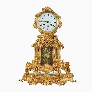 Horloge de Cheminée Ancienne en Orvolu