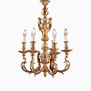 Bronze Louis-XVI Style Chandelier, 1920s