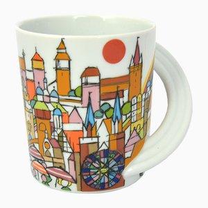 Vintage Porcelain Mug by Fritz Henry Oerter for Rosenthal