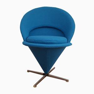 Fauteuil Cone Chair par Verner Panton, Danemark, années 70