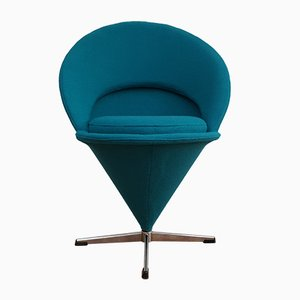 Danish Cone Chair Armchair by Verner Panton, 1970s