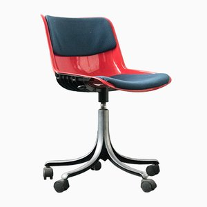 Office Chair by Osvaldo Borsani for Tecno, 1970s