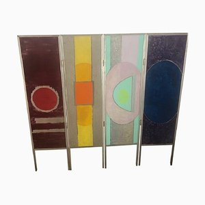Metal Room Divider from Le Songe, 1960s