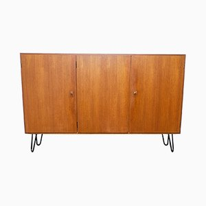 Teak and Steel Sideboard, 1970s