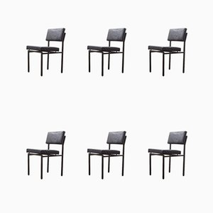 SE01/SE64 Dining Chairs by Martin Visser for t Spectrum, 1960s, Set of 6