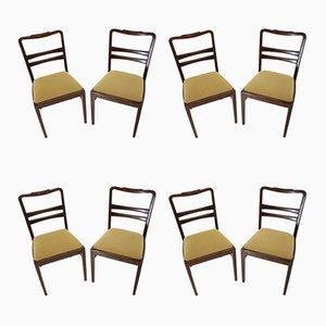 Deutsche Vintage Esszimmerstühle, 8er Set