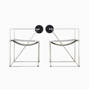 Vintage Seconda Dining Chairs by Mario Botta for Alias, Set of 2