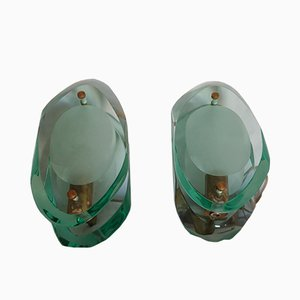 Mid-Century 2093 Sconces by Max Ingrand for Fontana Arte, Set of 2