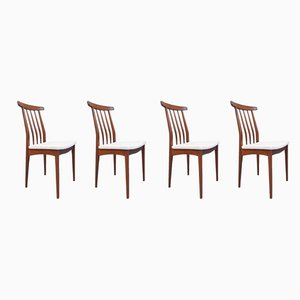 Afromosia Dining Chairs from A. Younger Ltd., 1960s, Set of 4