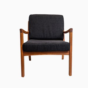 Danish Senator Lounge Chair by Ole Wanscher for France & Søn / France & Daverkosen, 1960s
