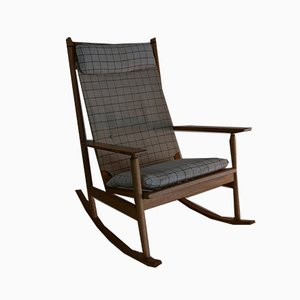 Rocking Chair by Hans Olsen for Juul Kristensen, 1960s