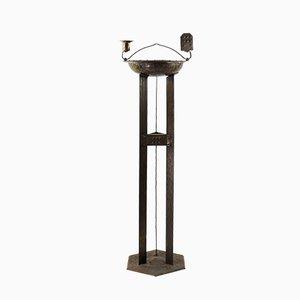 Antiker Standascher aus Metall von Hugo Berger für Goberg