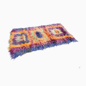 Vintage Pop Art Teppich, 1970er