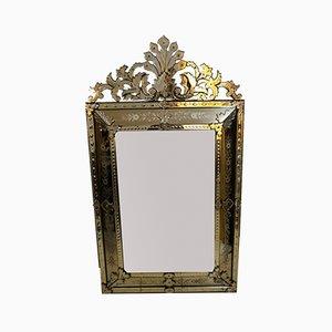 Großer antiker venezianischer Spiegel