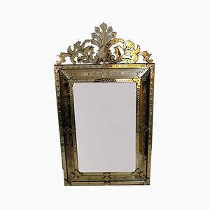 Large Antique Venetian Mirror